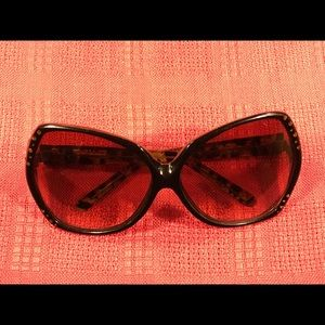 Kenneth Jay Lane oversized vintage sunglasses